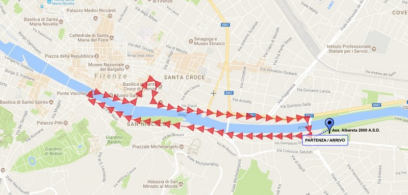Fitwalking Firenze